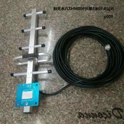 8 Element Antenna TV Digital HD 200 Mile Range TV 1080P 4K 3