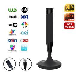 Indoor outdoor Digital TV HDTV Antenna  UHF/VHF/1080p 4K