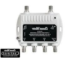 Channel Master CM3414 4-Way Distribution Amplifier - Quantit