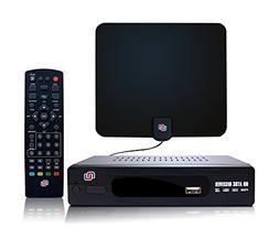 NUNET ATSC HD Digital Converter Box w/ 1080p HDMI Output, 35