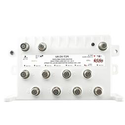 PCT 8 Port Bi-Directional Cable TV Splitter Signal Booster/A