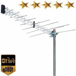 Premium BoostWaves Yagi Roof Top TV Antenna Optimized HDTV D