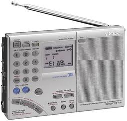 Sony ICF-SW7600GR AM/FM Shortwave World Band Receiver with S
