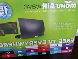 Mohu - AirWave Indoor Curved Wireless HDTV Antenna -Black