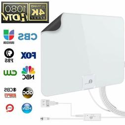 Amplified 50 Mile HDTV Digital Antenna With Signal Booster &