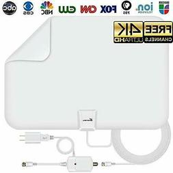 Vansky Amplified Digital HD TV Antenna 65-80Mile Range Local