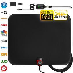 Amplified HD Digital TV Antenna Long 130 Miles Range