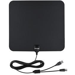 Amplified HDTV Antenna-SKYTV 50 Miles Range Digtial HD Anten