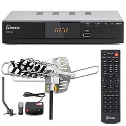 Amplifier TV Antenna Bundle Digital HD Converter Auto Tuner