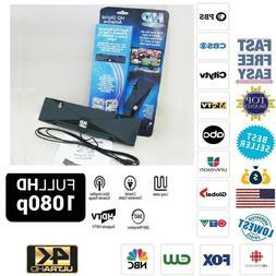 antenna 1080p tv digital 50 mile rangetv