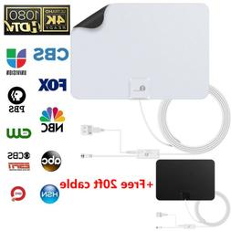 1byone Antenna HD Digital TV 50-Mile Range Indoor Amplified