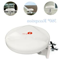 1Byone Antenna Outdoor TV Omni-directional 360 Degree Recept