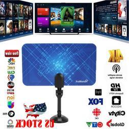 Antenna TV Digital HD 100 Mile Range Skywire TV Indoor 1080P