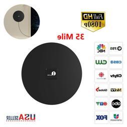 1byone Antenna TV Digital HD 100Mile Range Signal TV Indoor