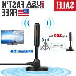 Antenna TV Digital HD 200 Mile Range Skywire Indoor 1080P 4K