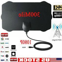 Antenna TV Digital HD 300 Mile Range Skywire TV Indoor 1080P
