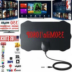 Antenna TV Digital HD 300 Mile Range Skywire Indoor 1080P 4K