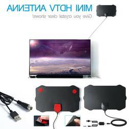 Antenna TV Indoor Digital 200 Miles Range HD 1080P Signal Bo