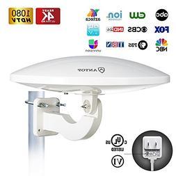 ANTOP UFO Outdoor TV Antenna, 360°Omni Directional Receptio