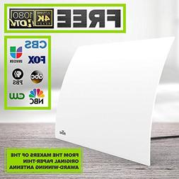 Mohu Arc Digital TV Antenna, 40-Mile Range, Designer Edition
