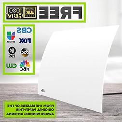 Mohu Arc Digital TV Antenna, 40-Mile Range, Designer Edition