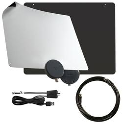Mohu Basic 50 Mile Indoor HDTV Antenna