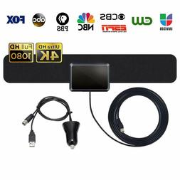 Best Amplified 50-90 Mile TV Antenna Newest Version 4K 1080P