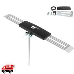 Best Antenna 200 Miles HDTV 1080P Outdoor Amplified 360 Roto