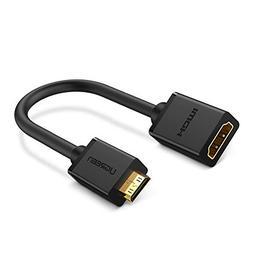 UGREEN Mini HDMI Adapter Mini HDMI to HDMI Female Cable Adap