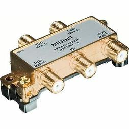 Philips Cable Splitter 4-Way 24K Gold Plated Case of 4 - WAY