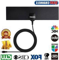 CLEAR HDTV KEY FREE HD Digital TV Indoor Thin Flat Antenna 2