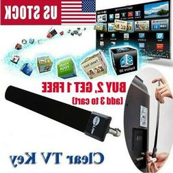 Clear TV Key 1080p HDTV 100+ FREE HD TV Digital Indoor Anten