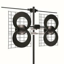 Antennas Direct - ClearStream 4V Antenna - Black/Silver
