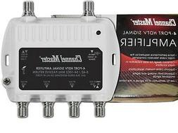 CM 4-WAY HDTV CATV RF/UHF/VHF/TV Antenna Signal Distribution