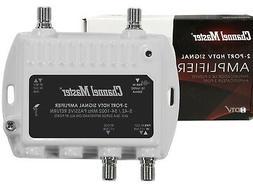 CM HDTV CATV RF/UHF/VHF/TV Antenna Signal Powered Distributi