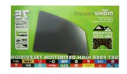 crescent outdoor 75 mile range tv antenna