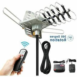 Digital Amplified TV Antenna Outdoor Indoor Roof Attic 360 D
