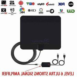 DIGITAL ANTENNA TV HDTV 300 MILES LONG RANGE HQ INDOOR ANTEN