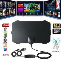 Digital Antenna TV HDTV 60 Miles Long Range HQ HDTV Indoor A