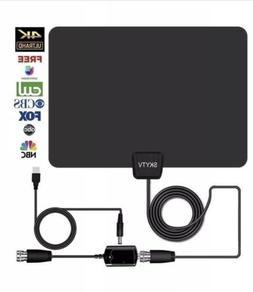 Digital HD TV Antenna SKYTV Amplified Indoor TV Antennas 60+