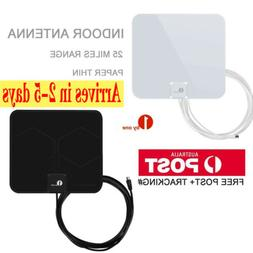 1Byone Digital Indoor HDTV TV Antenna 1080P UHF/VHF/FM 50mil