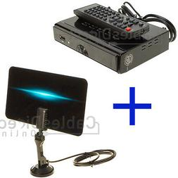 Digital Indoor Kit Set Flat TV Antenna HDTV DTV Signal Boost