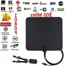 DIGITAL INDOOR TV HDTV VHF UHF FM DTV ANTENNA NEW HD TV Radi