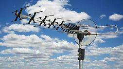 BoostWaves Digital Outdoor TV Antenna UHF VHF FM Signal Rece