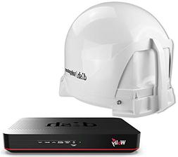 KING DISH TAILGATER BUNDLE  WITH DISH WALLY HD RECEIVER
