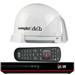 KING DT4450 DISH Tailgater Bundle - Portable/Roof Mountable