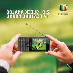 Dual SIM Antenna Analog TV Mobile Phone FM Radio Camera MP3