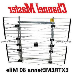 Extremetenna 80 Mile Roof Attict Mast Long Range Antenna HD