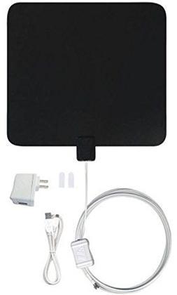 Winegard FL5500S Flatwave Amplified Indoor HDTV Antenna