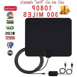 ViewTV 300 Mile Range Flat HD Digital Indoor Amplified TV An